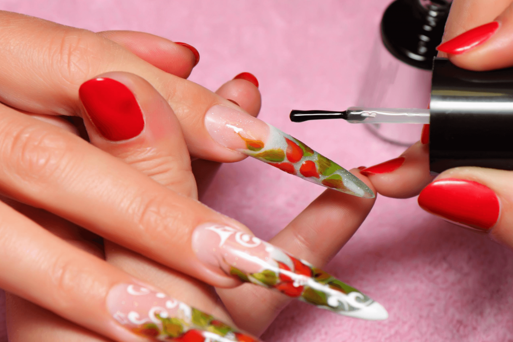 how to do your own acrylic nails