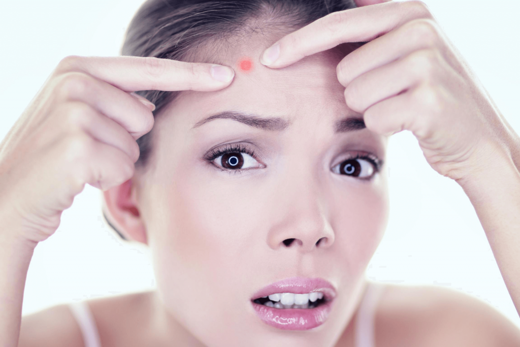 how to get rid of acne scab