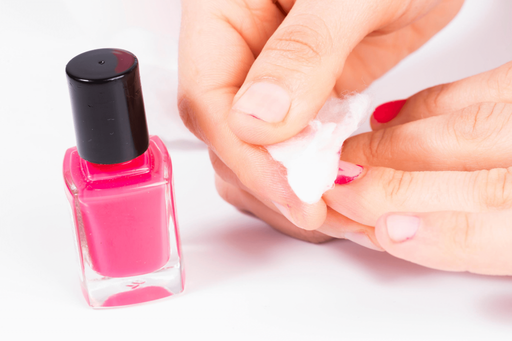 how to take off SNS nails